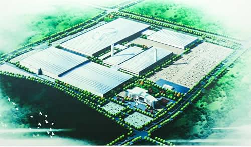 北京汽车集团株洲自主制造基地